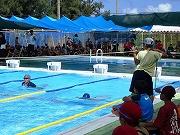 小体連水泳 (2)