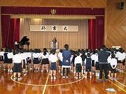 2学期終業式 (2)