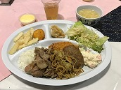 1日目の 夕食 (1)