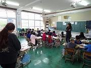 書き初め会&授業参観 (25)