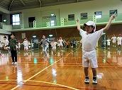 縄跳び朝会 (2)